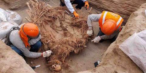 Encuentran restos humanos de más de 800 años de antigüedad en Perú   El Imparcial de Oaxaca