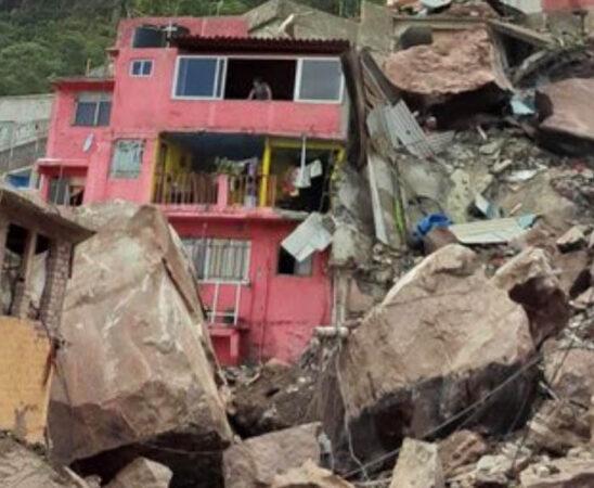 Tras rescate de niña Mía, Cerro del Chiquihuite registró una desestabilización