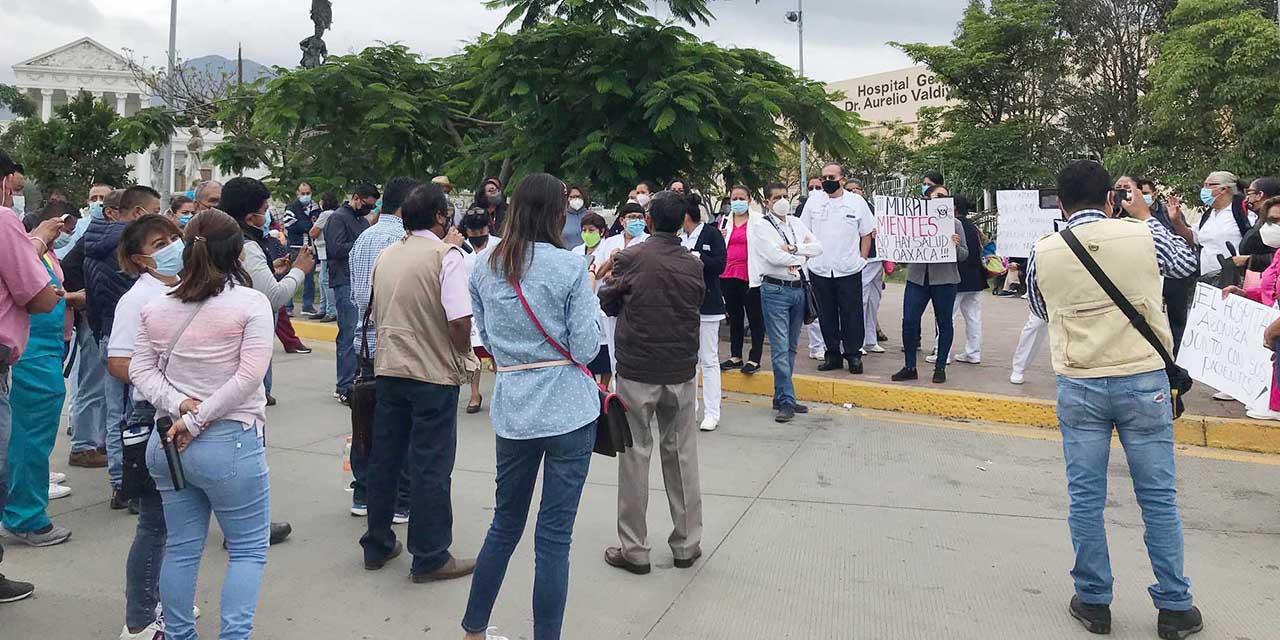 Garantizan certeza laboral a formalizados y regularizados de SSO; a revisión eventuales   El Imparcial de Oaxaca