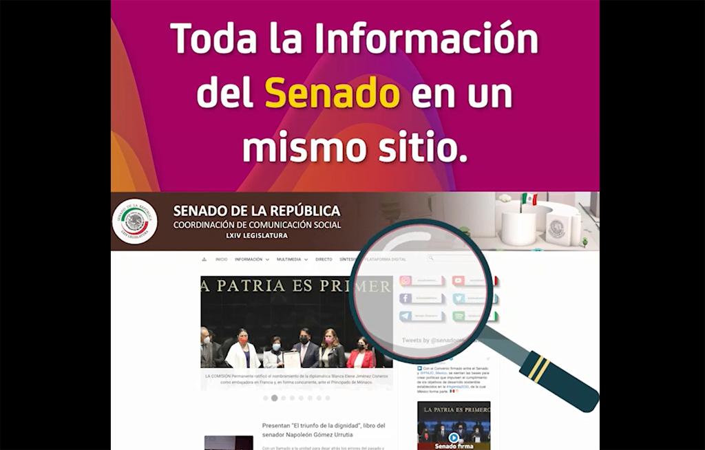 Toda la información del Senado de la República en un solo sitio   El Imparcial de Oaxaca
