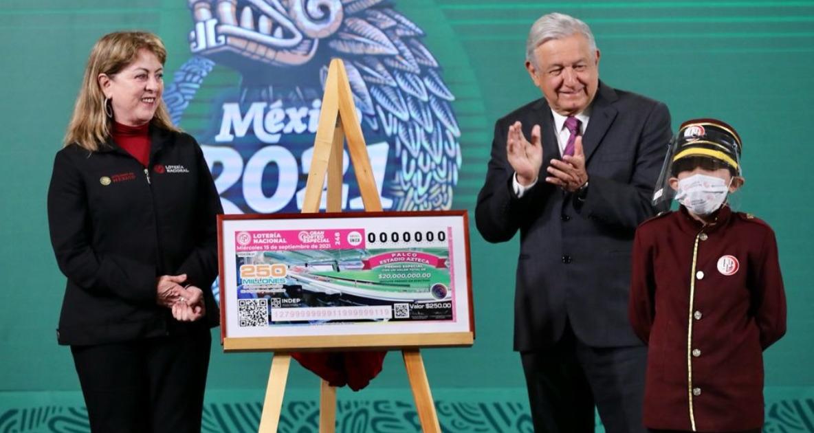 Anuncia AMLO Gran Sorteo Especial de la Lotería Nacional | El Imparcial de Oaxaca