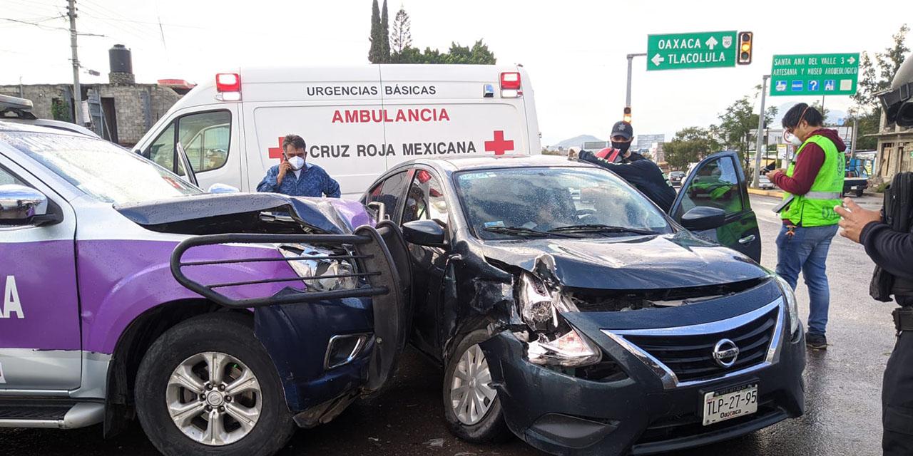 Violento choque en Tlacolula de Matamoros | El Imparcial de Oaxaca