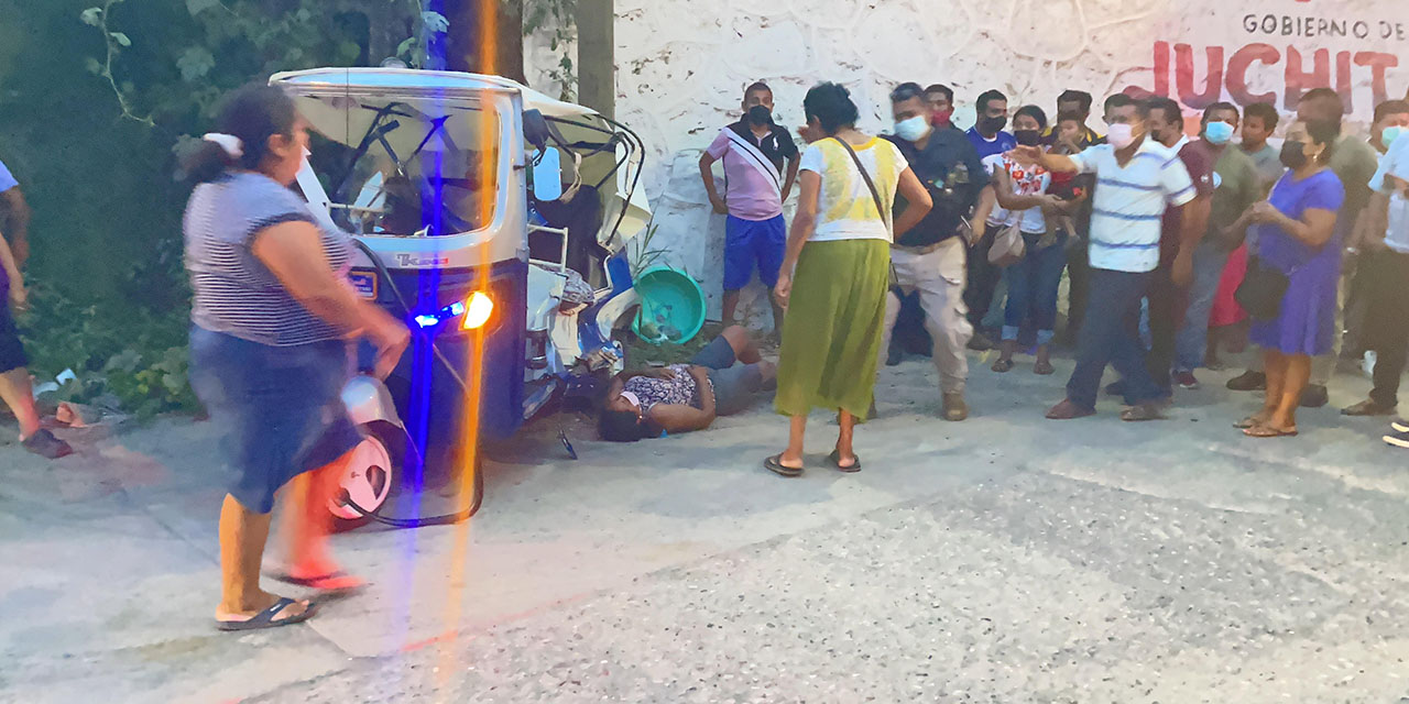 Conductor ebrio embiste a un mototaxi | El Imparcial de Oaxaca