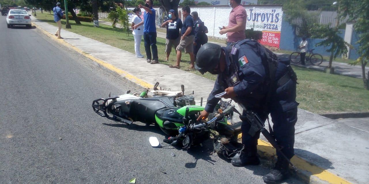 Deja choque deja menor lesionado | El Imparcial de Oaxaca