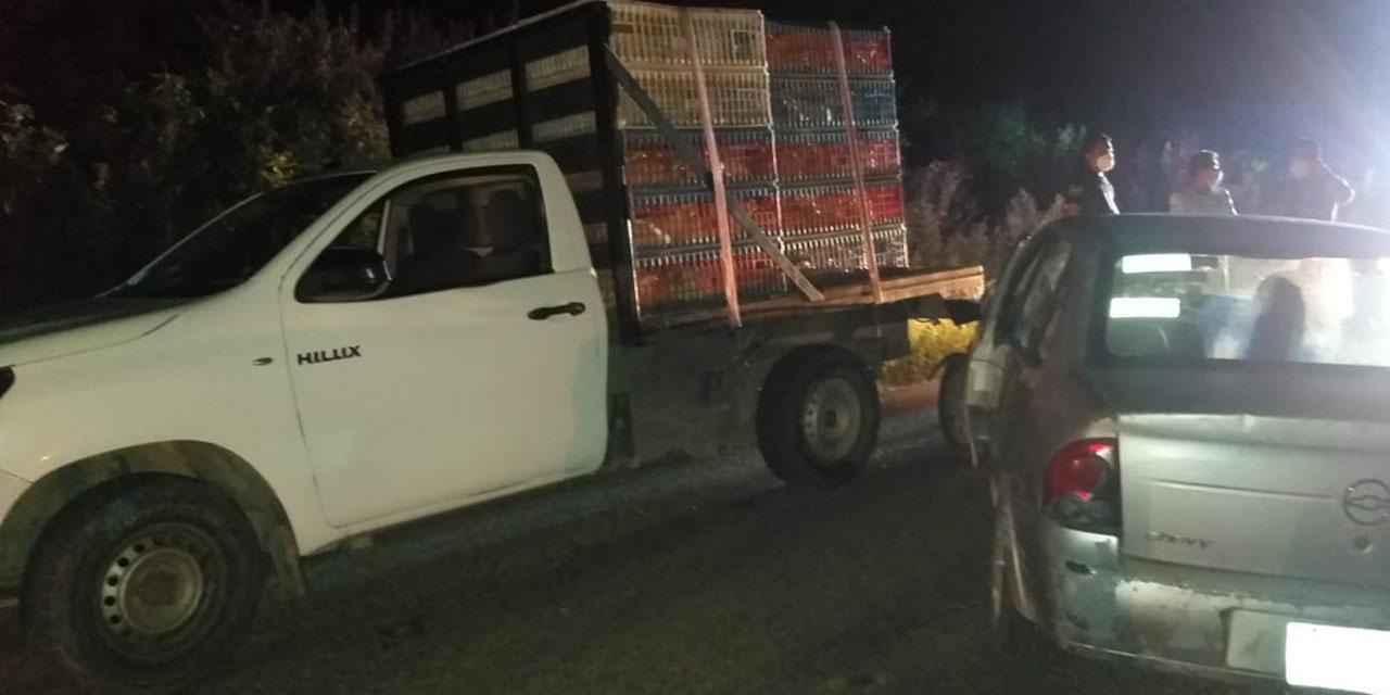 Choca conocido pollero con vehículo particular en Salina Cruz | El Imparcial de Oaxaca