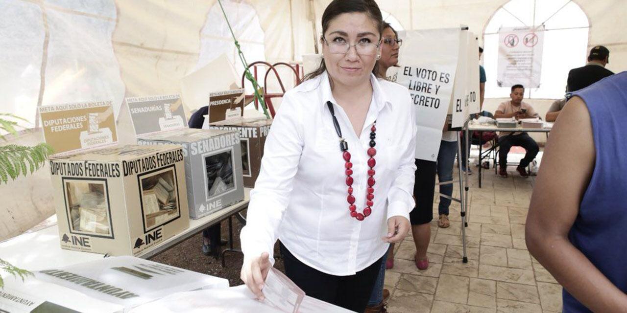 Sibaja Ochoa es nombrada presidenta provisional del IEEPCO | El Imparcial de Oaxaca