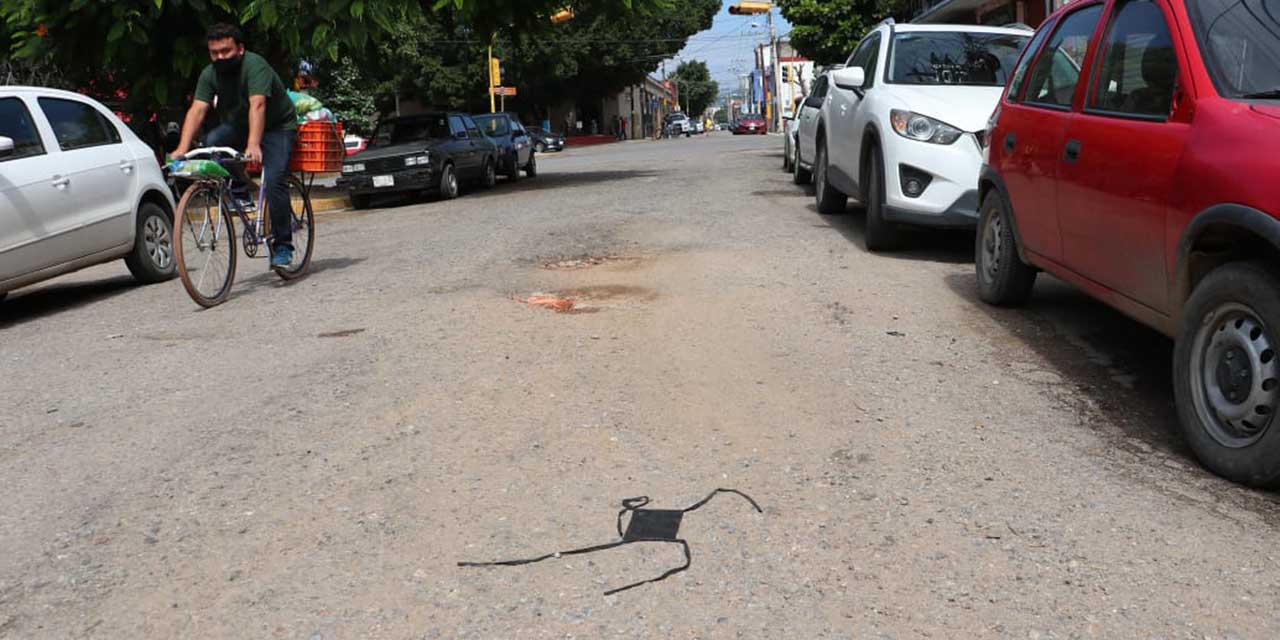 Desechos ligados al Covid: del pánico a la indiferencia | El Imparcial de Oaxaca