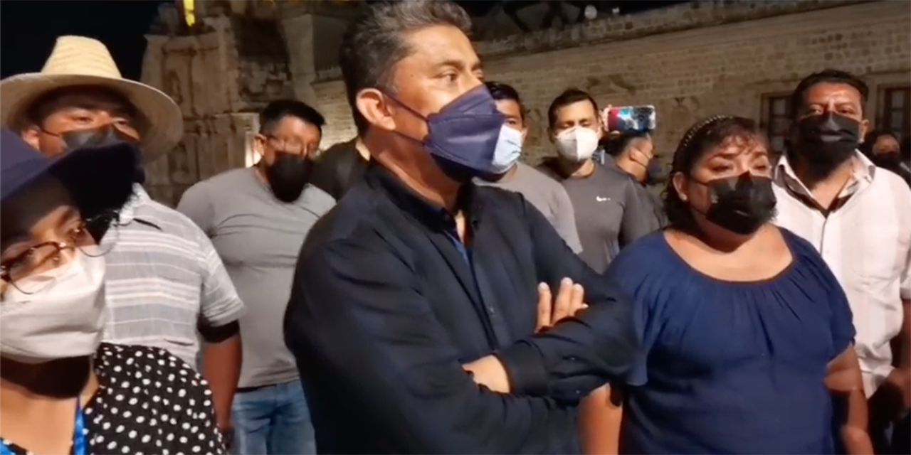 Sindicato Independiente 3 de Marzo levanta protesta y regresa esta noche a laborar   El Imparcial de Oaxaca