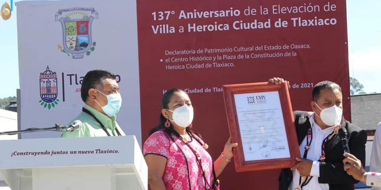 Conmemoran el 137 aniversario del título de Ciudad en Tlaxiaco   El Imparcial de Oaxaca