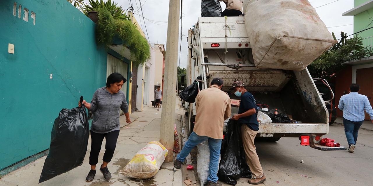 Cuatro días después, recobra Centro Histórico su limpieza | El Imparcial de Oaxaca