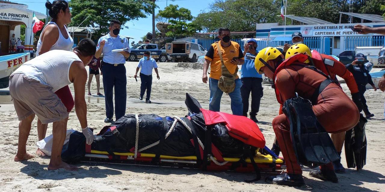 Hallan un cadáver flotando en el mar en Puerto Escondido   El Imparcial de Oaxaca
