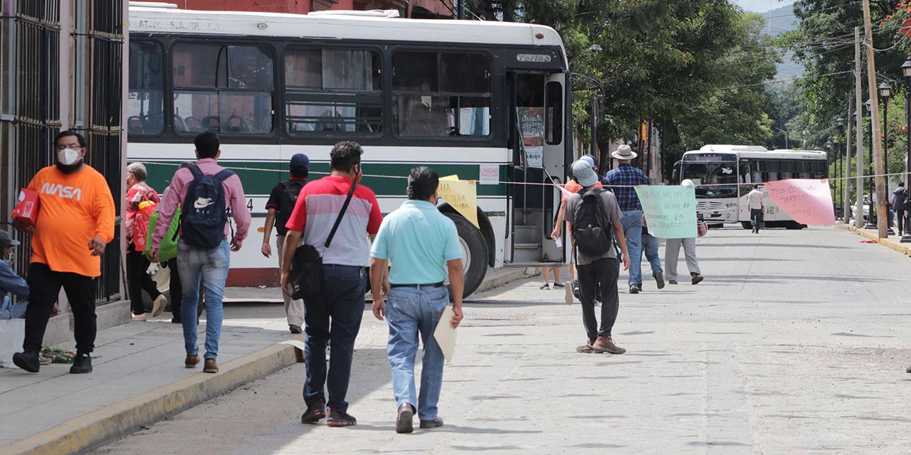 Escalada de protestas marca fin del gobierno de García Jarquín | El Imparcial de Oaxaca