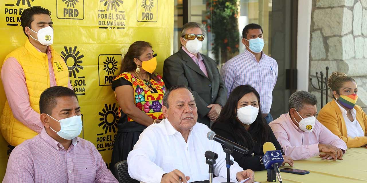 PRD se desmarca de la alianza Va por Oaxaca   El Imparcial de Oaxaca