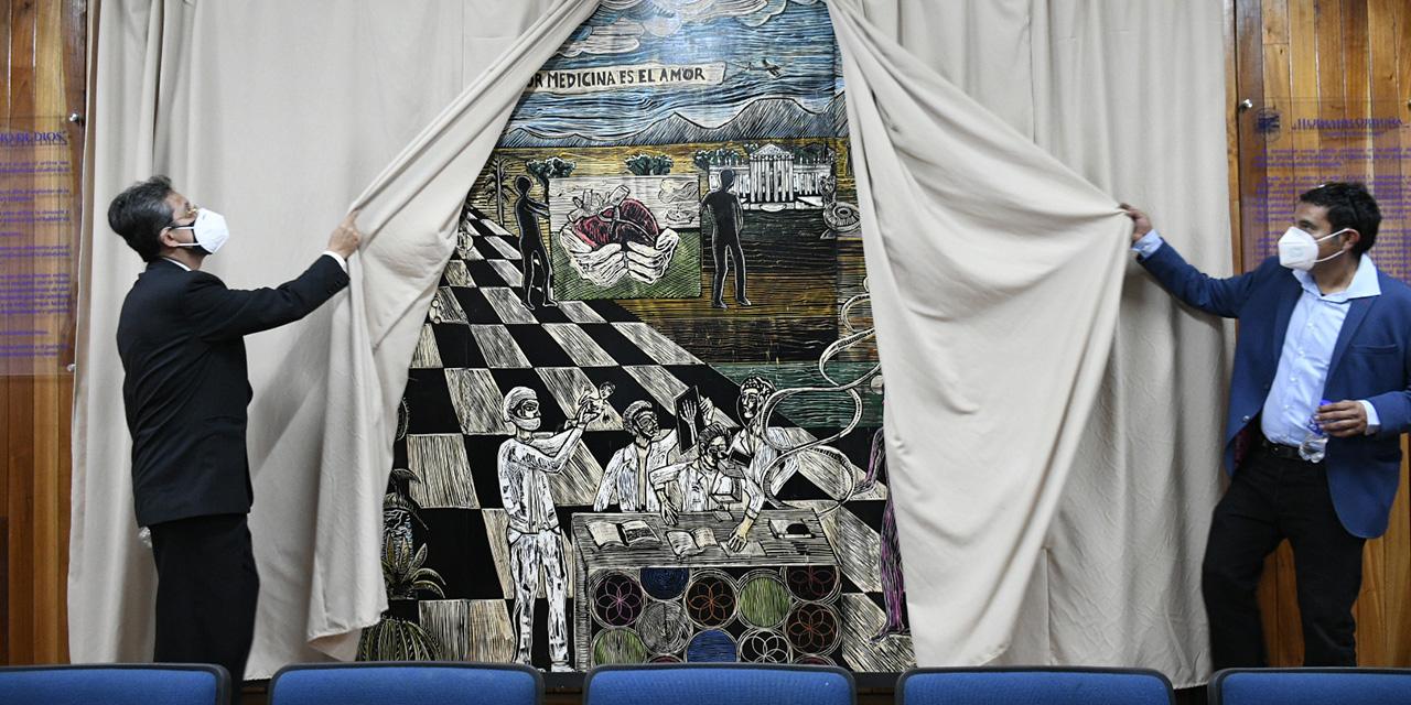 Mural de Hermann Orduña es develado en la UABJO | El Imparcial de Oaxaca