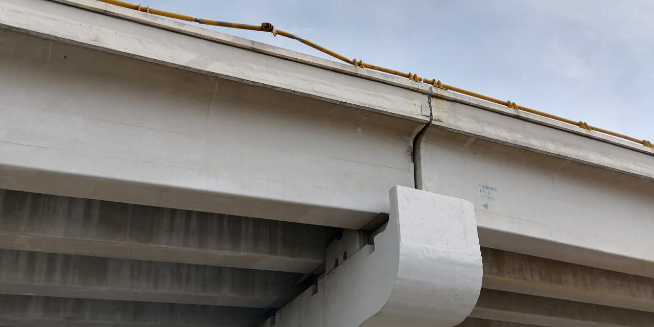Puente elevado de Cinco Señores, sin mínimo mantenimiento, advierten posible catástrofe | El Imparcial de Oaxaca