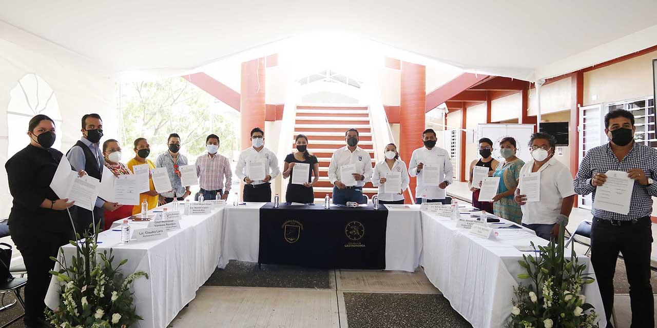 La UABJO y el sector restaurantero estrechan lazos de colaboración | El Imparcial de Oaxaca