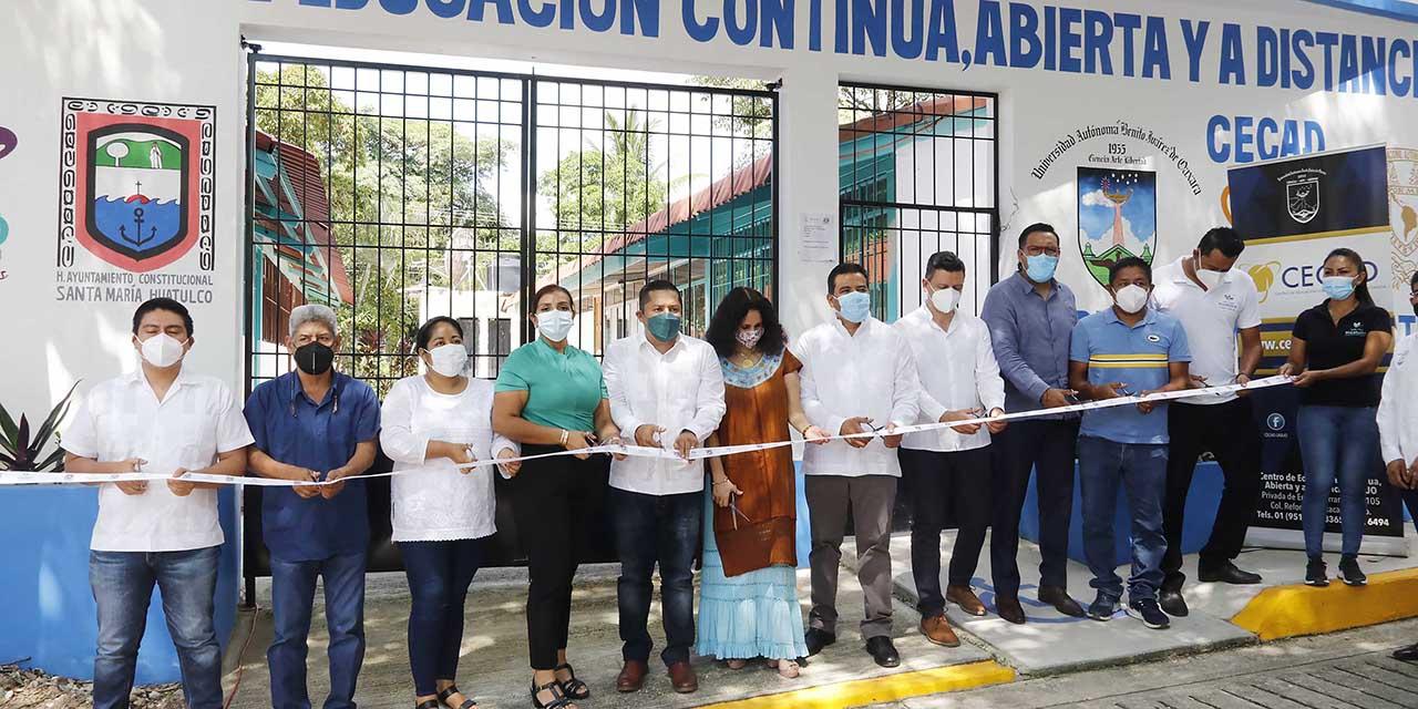 Rector en Huatulco inaugura sede del CECAD-UABJO | El Imparcial de Oaxaca