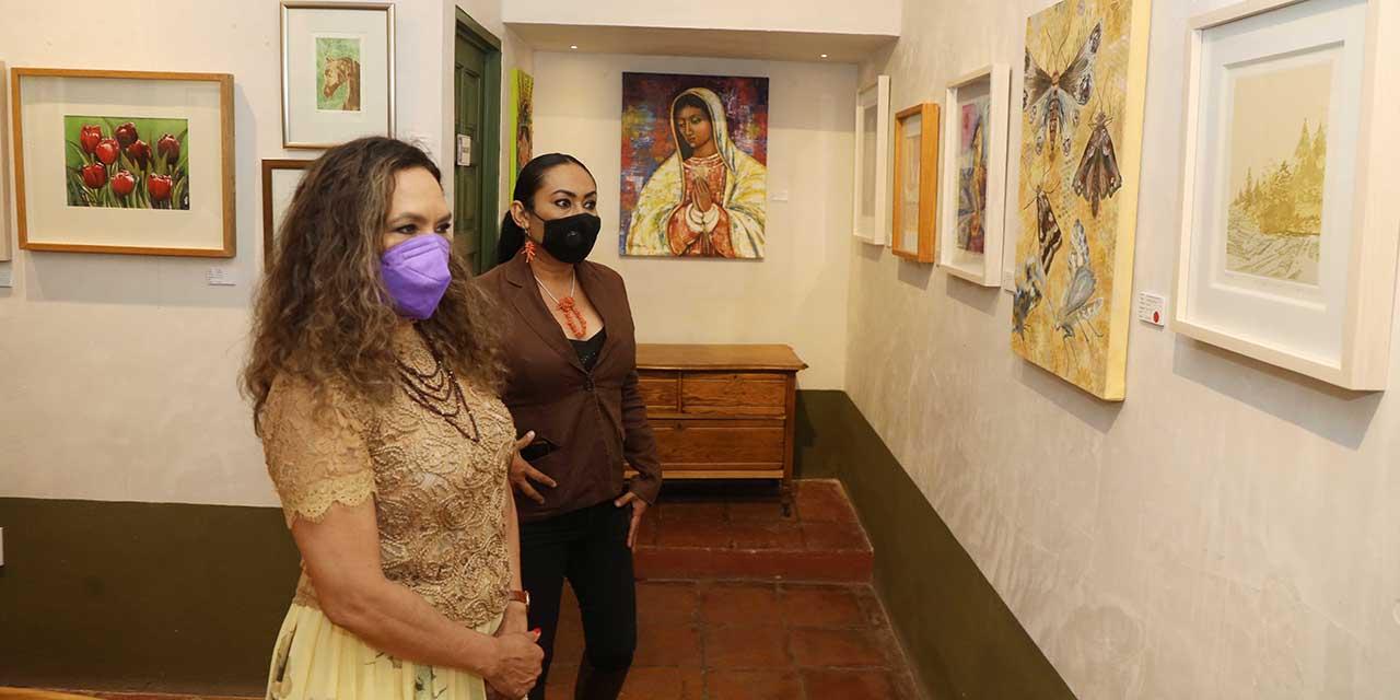 Inauguran exposición de arte a beneficio del Grupo Reto | El Imparcial de Oaxaca