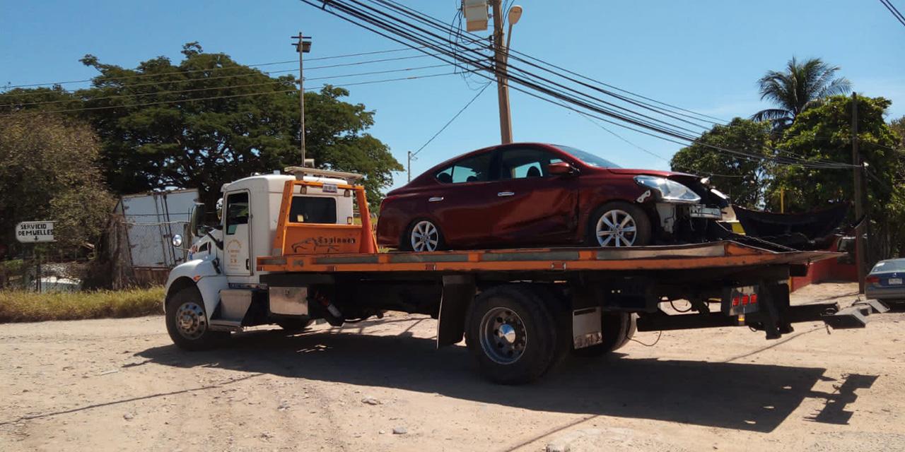Se sale del camino en la carretera Transístmica | El Imparcial de Oaxaca