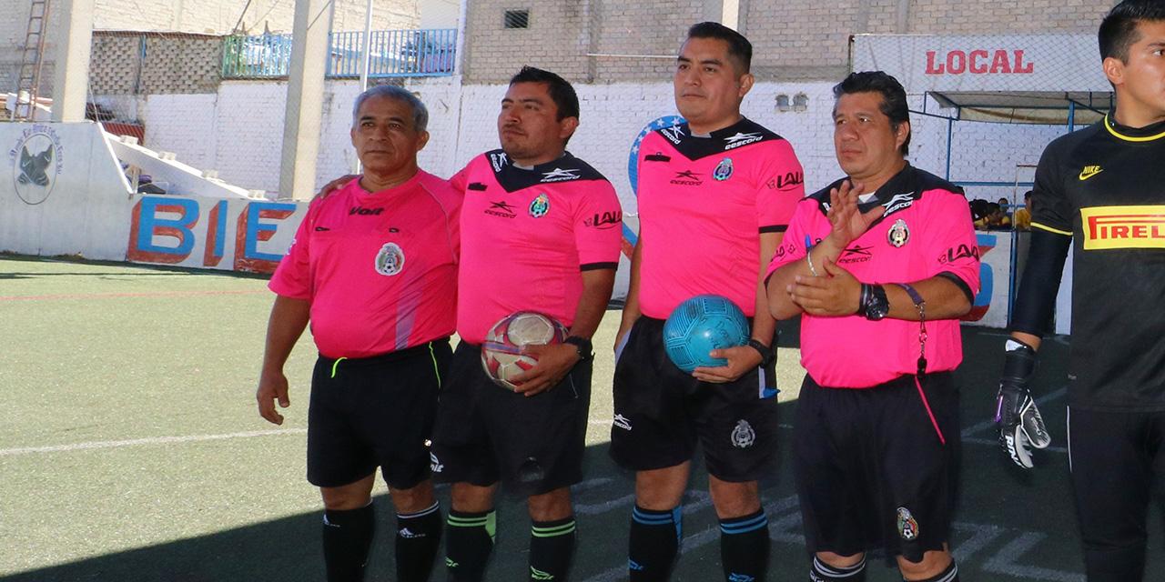 La notable labor de ser árbitro | El Imparcial de Oaxaca