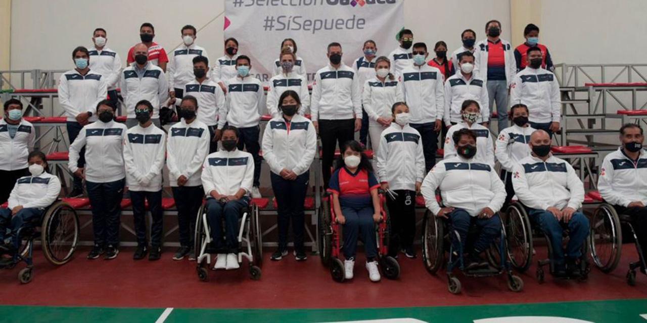 Abanderan a la selección de Juegos Paranacionales | El Imparcial de Oaxaca