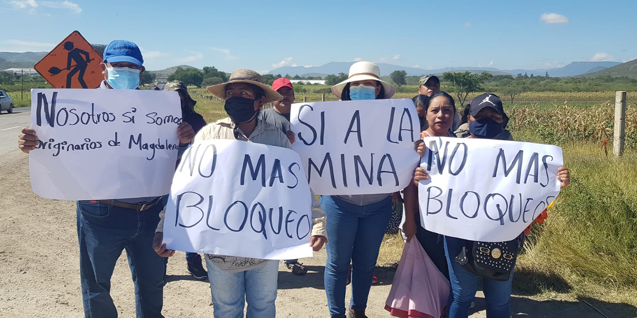 Exigen evitar complicidad de autoridades con minera | El Imparcial de Oaxaca