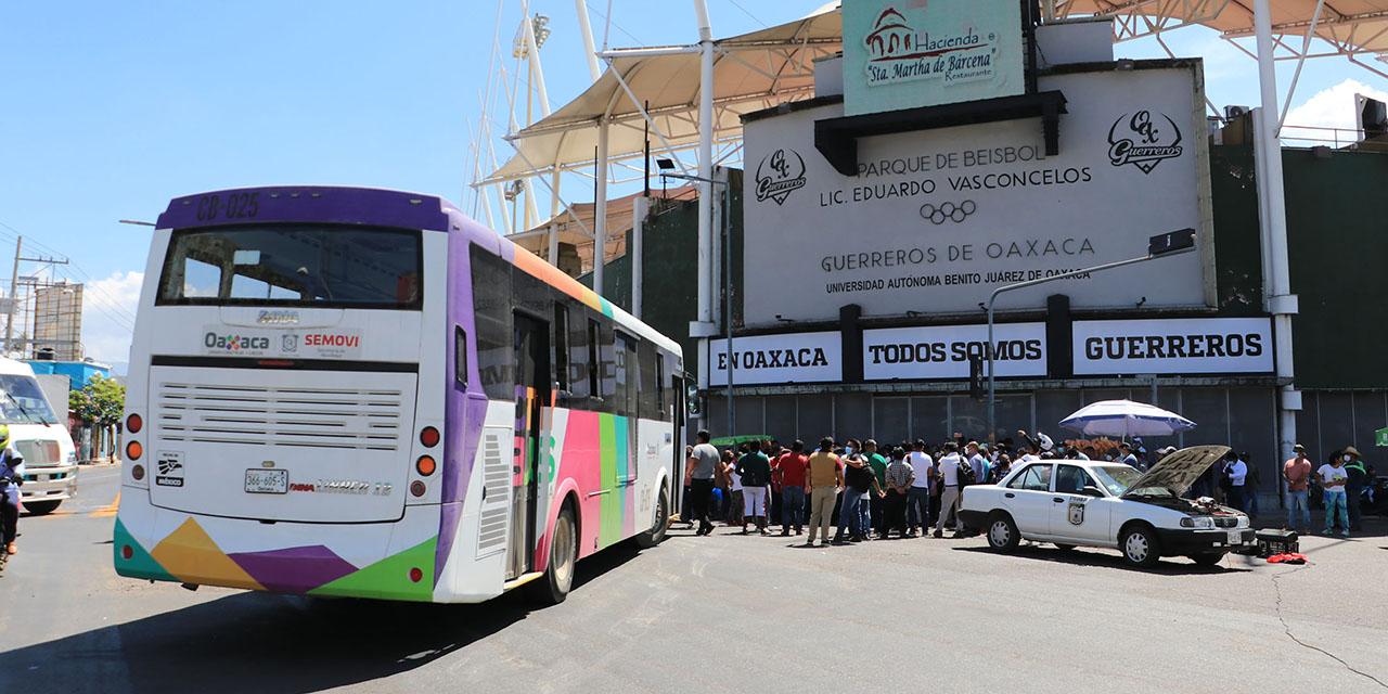 STEUABJO estrena ruta del Citybus: bloquean JLCA | El Imparcial de Oaxaca