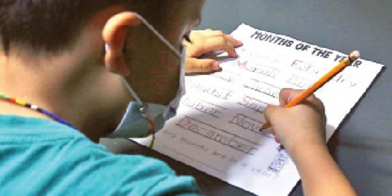 Íker tiene seis años y no conoce la escuela; pandemia impacta fuertemente en la educación | El Imparcial de Oaxaca