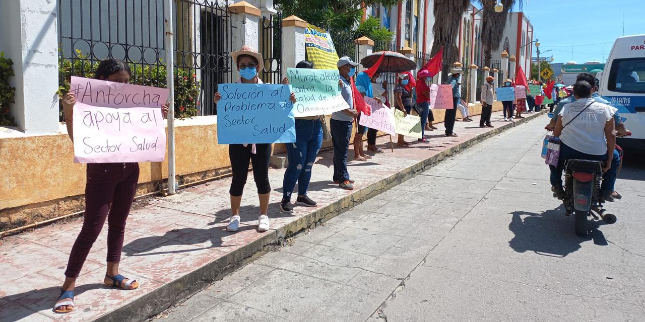 Se cuelga Antorcha del lío de salud en la Costa | El Imparcial de Oaxaca
