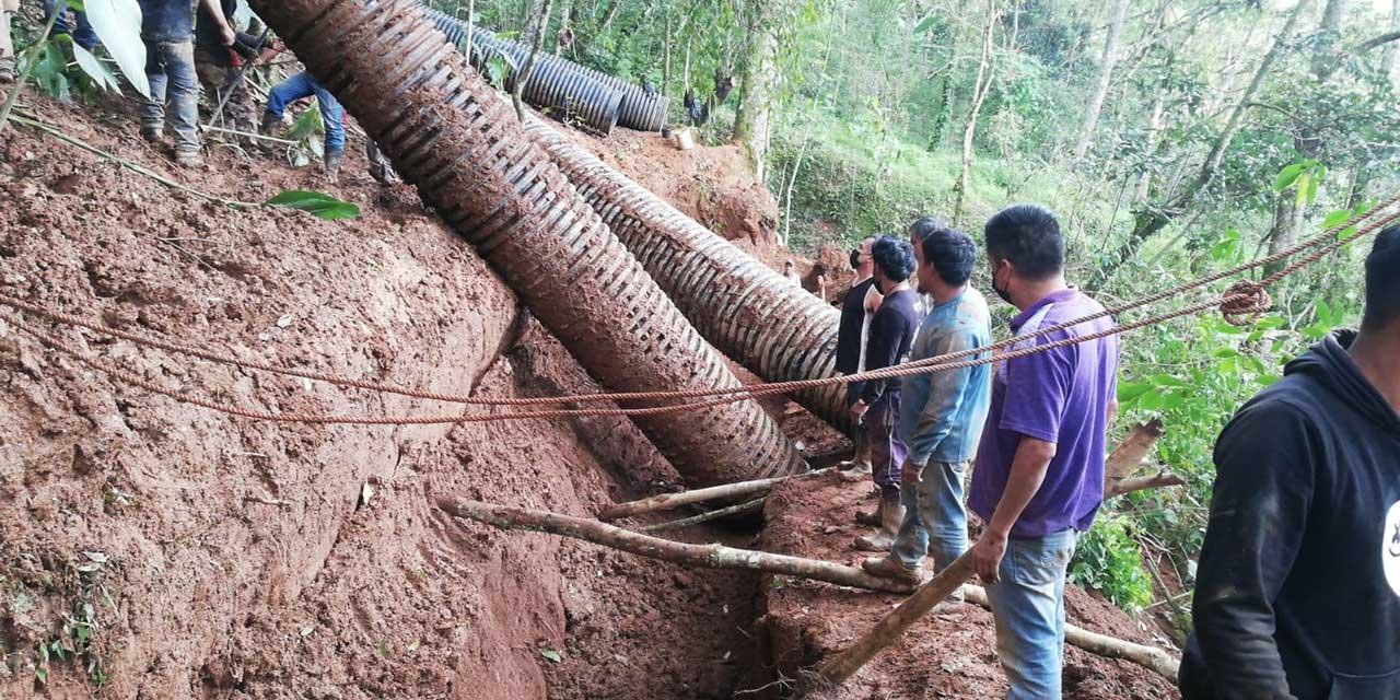 Realizan faena por obra de drenaje en Huautla   El Imparcial de Oaxaca
