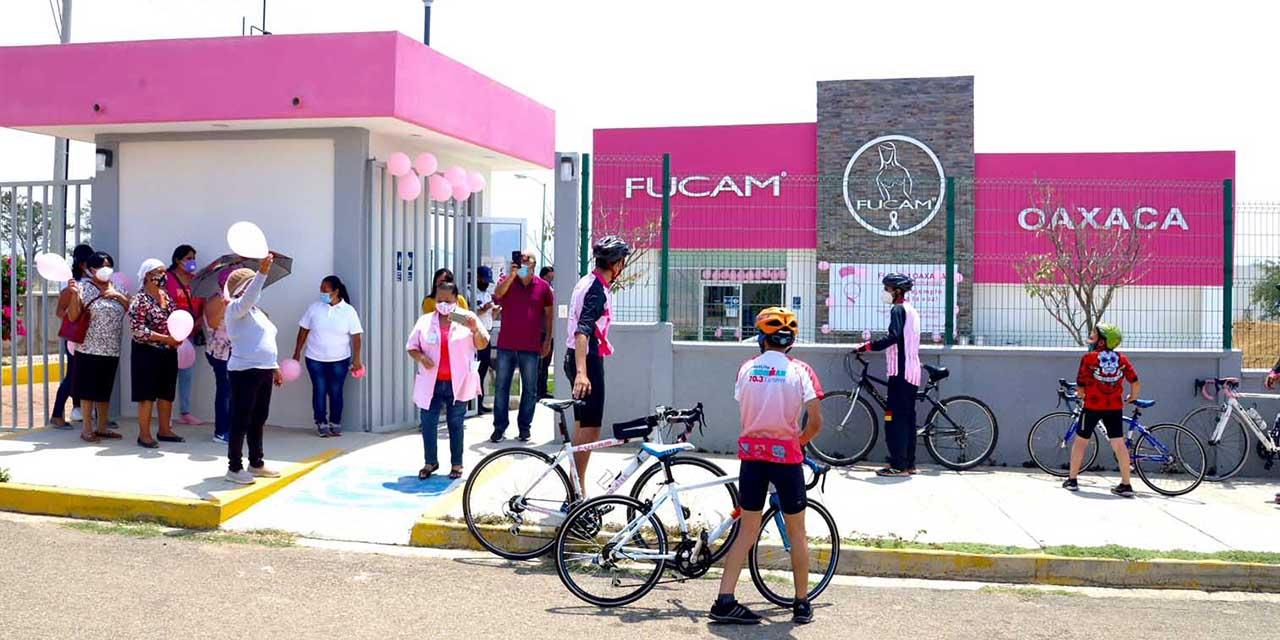 DIF Oaxaca realiza donativo a FUCAM para atender Cáncer de Mama | El Imparcial de Oaxaca