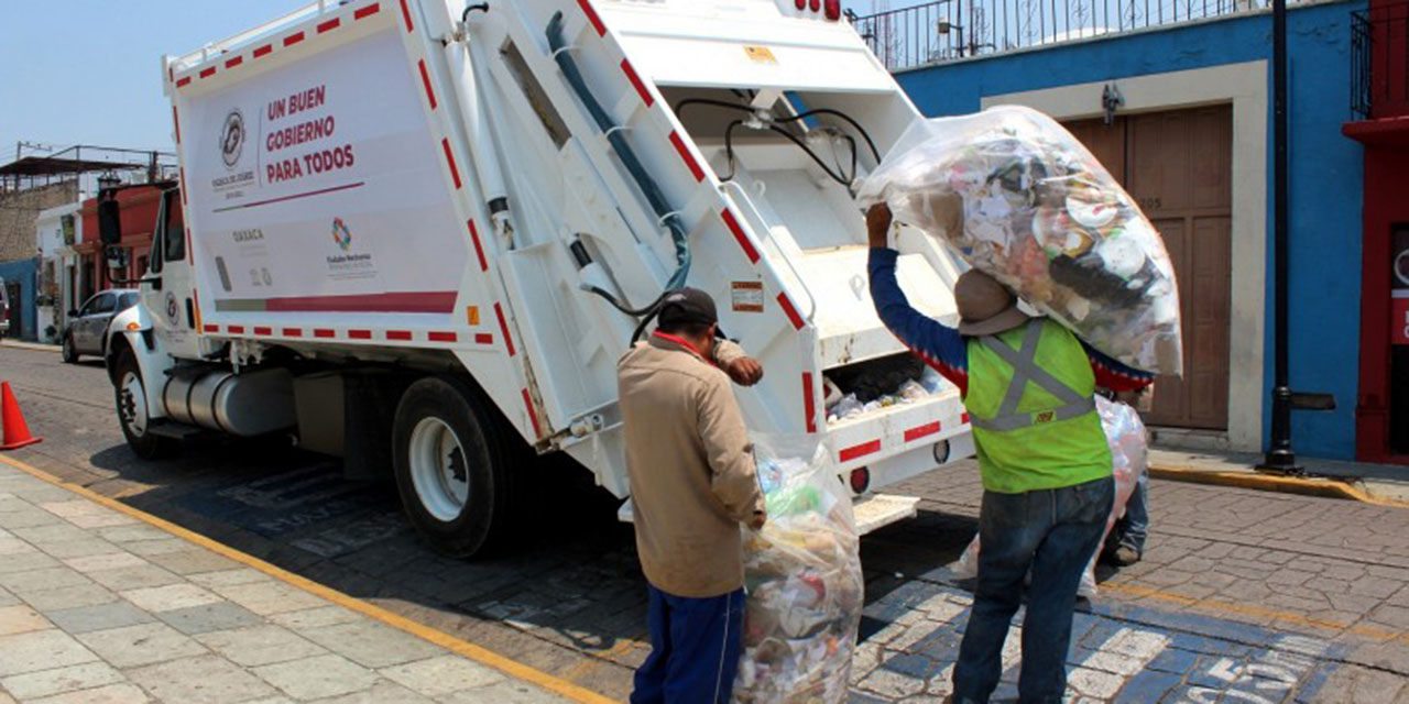 Incertidumbre en servicio de recolección de basura por renta de camiones en la capital oaxaqueña | El Imparcial de Oaxaca