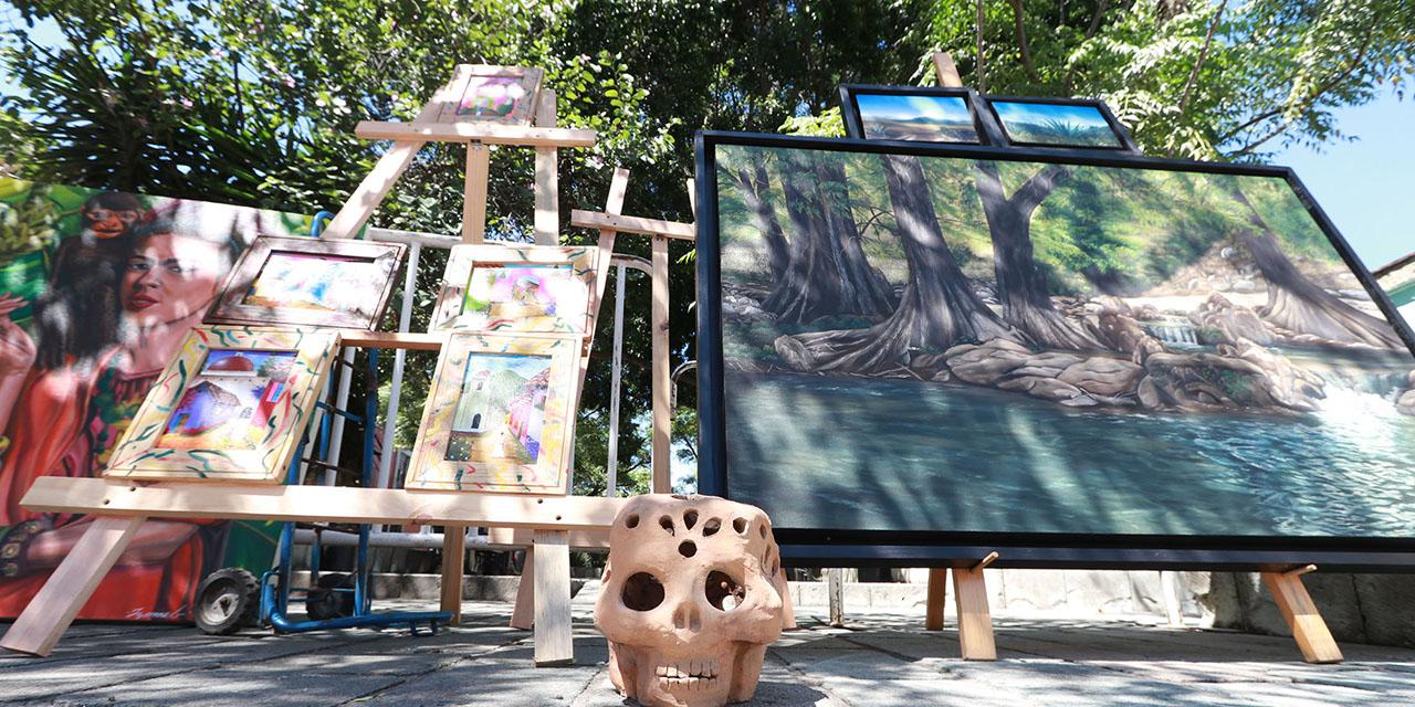 Jardín del Arte: artistas desplazados; decisión en manos del edil   El Imparcial de Oaxaca