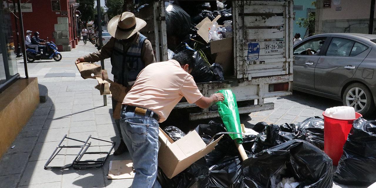 Tras reapertura del basurero, reanudan servicio de recolección en la capital oaxaqueña | El Imparcial de Oaxaca