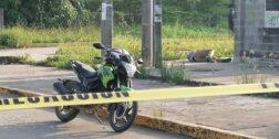 Acribillan a motociclista; otro más resultó herido