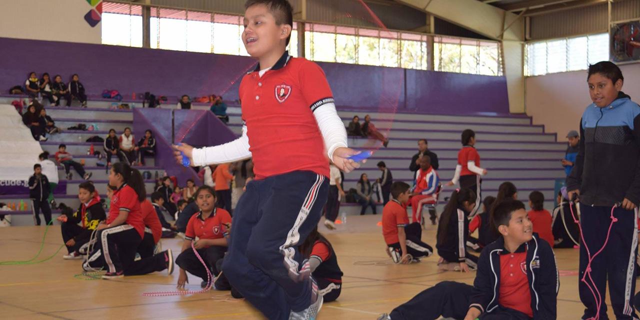 Última llamada a salto de cuerda | El Imparcial de Oaxaca