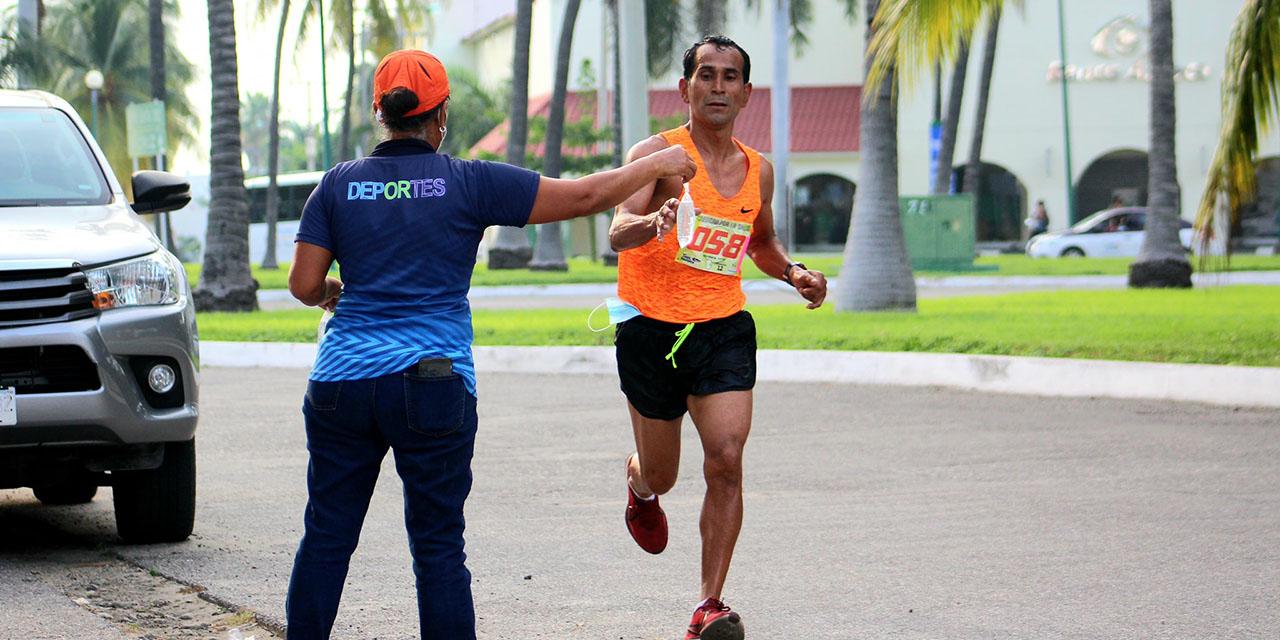Corren kilómetros por la salud | El Imparcial de Oaxaca