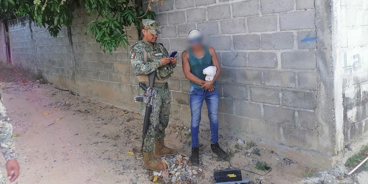 Lo detienen por presunto robo en Salina Cruz | El Imparcial de Oaxaca