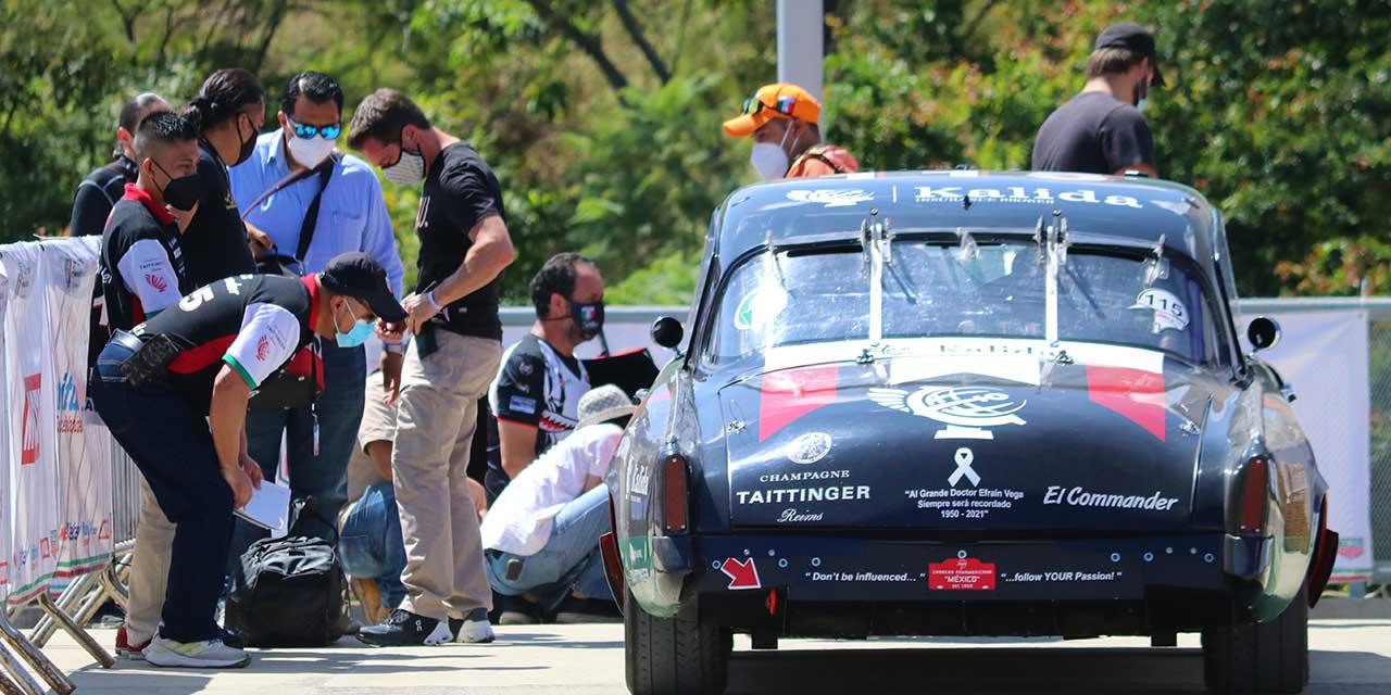 Llegaron participantes de La Carrera Panamericana | El Imparcial de Oaxaca