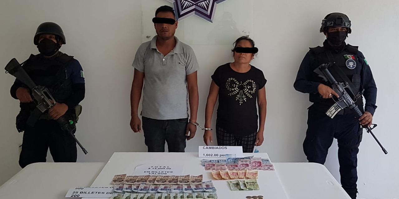 Detenidos con billetes falsos en Pochutla | El Imparcial de Oaxaca