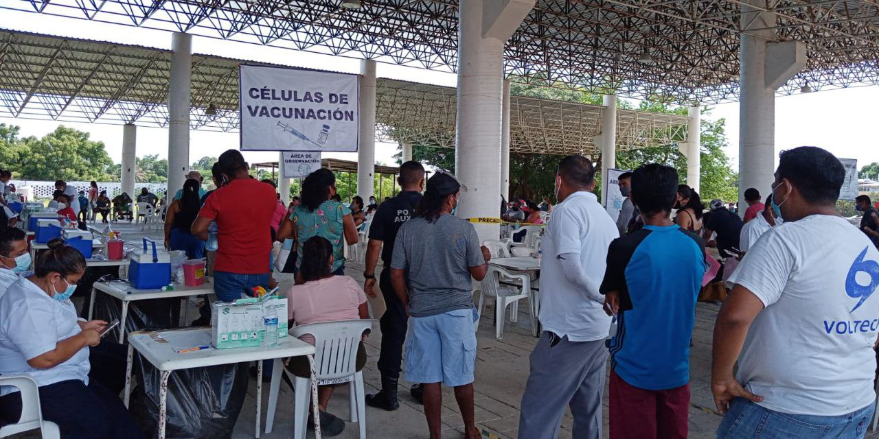 Registran avance de vacunación anticovid de 62% en Oaxaca   El Imparcial de Oaxaca