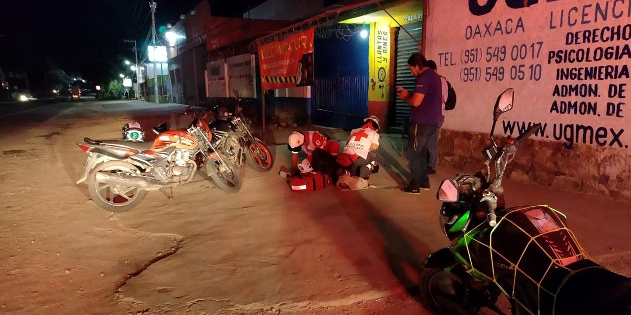 Derrapan y se lesionan en Brenamiel   El Imparcial de Oaxaca