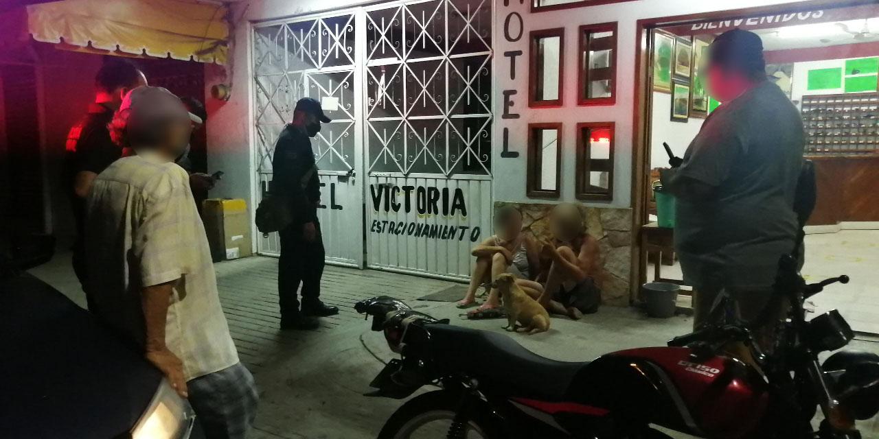 Ebrio conductor daña fachada de un hotel en Puerto Escondido | El Imparcial de Oaxaca