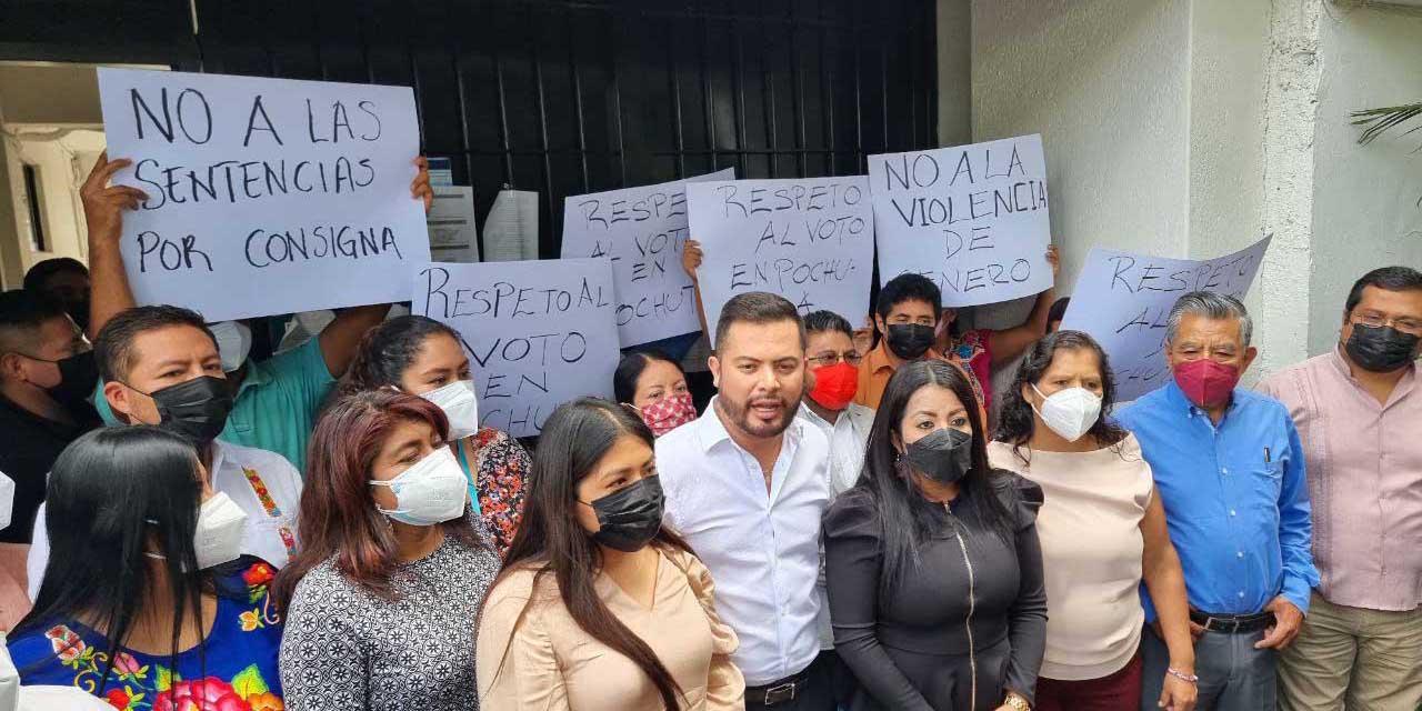 Acusan a Morena de sacar provecho de programas federales en Pochutla | El Imparcial de Oaxaca