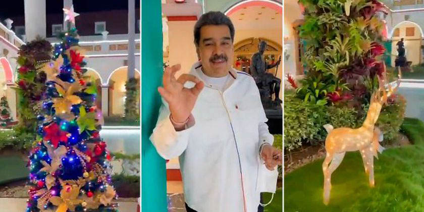 Nicolás Maduro adelanta la Navidad, pese a la crisis económica que se vive en Venezuela   El Imparcial de Oaxaca