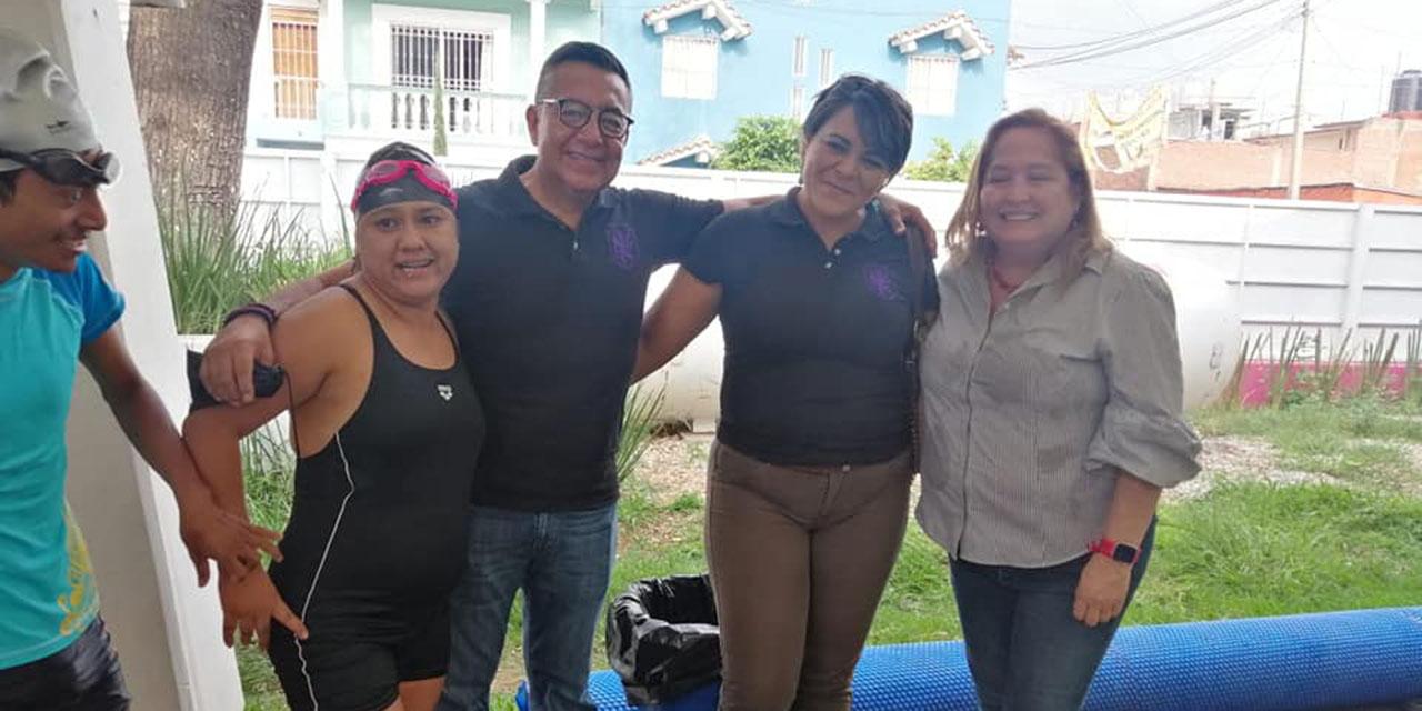 Noemí compartió su experiencia en natación   El Imparcial de Oaxaca