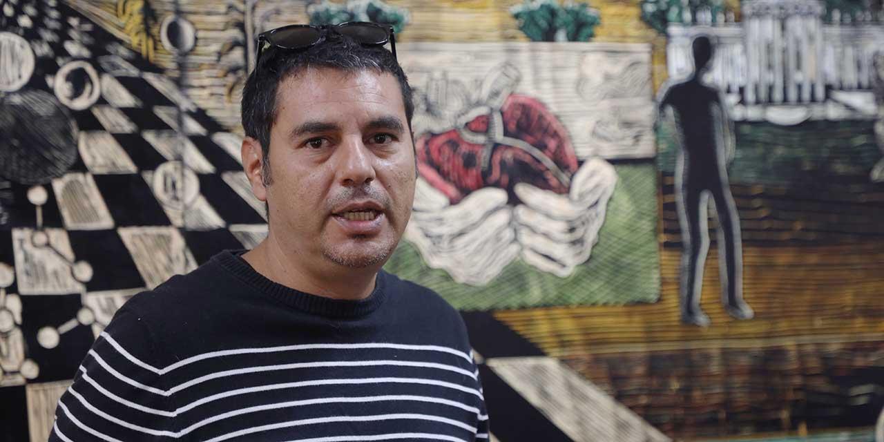 Hermann Orduña une el arte y la ciencia en mural | El Imparcial de Oaxaca