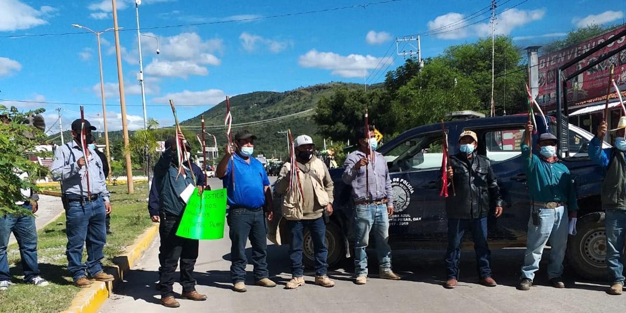 San Martín Peras exige justicia por las muertes de sus autoridades   El Imparcial de Oaxaca