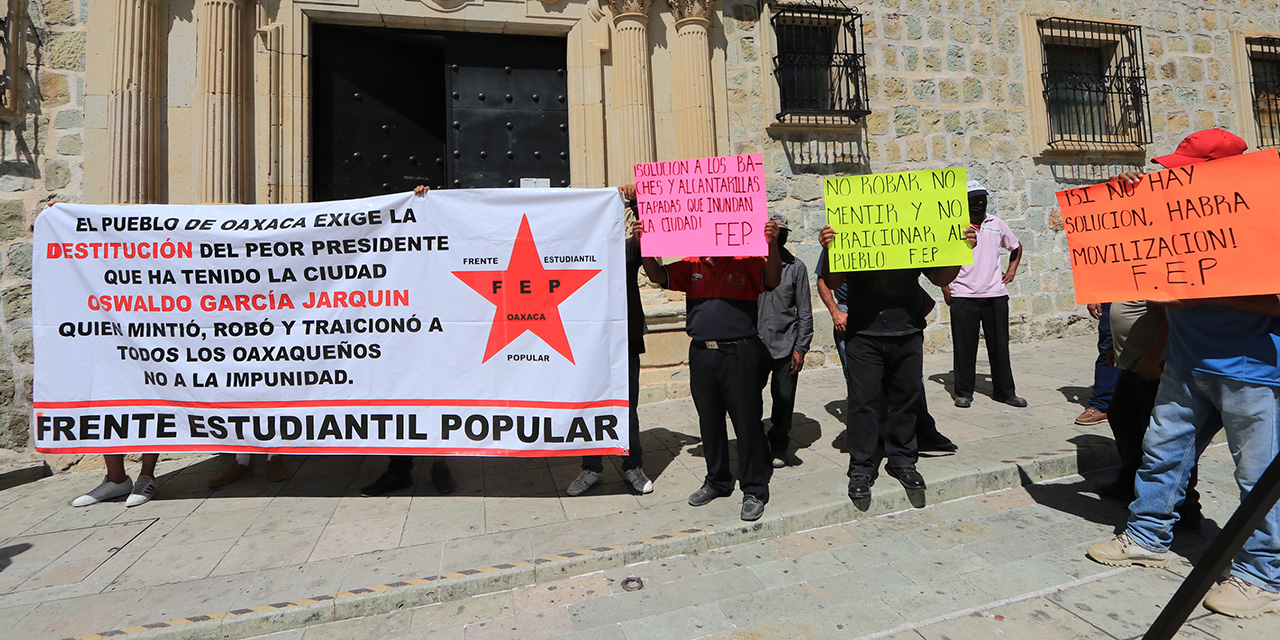 Pedirán al Congreso despido de Oswaldo García Jarquín   El Imparcial de Oaxaca