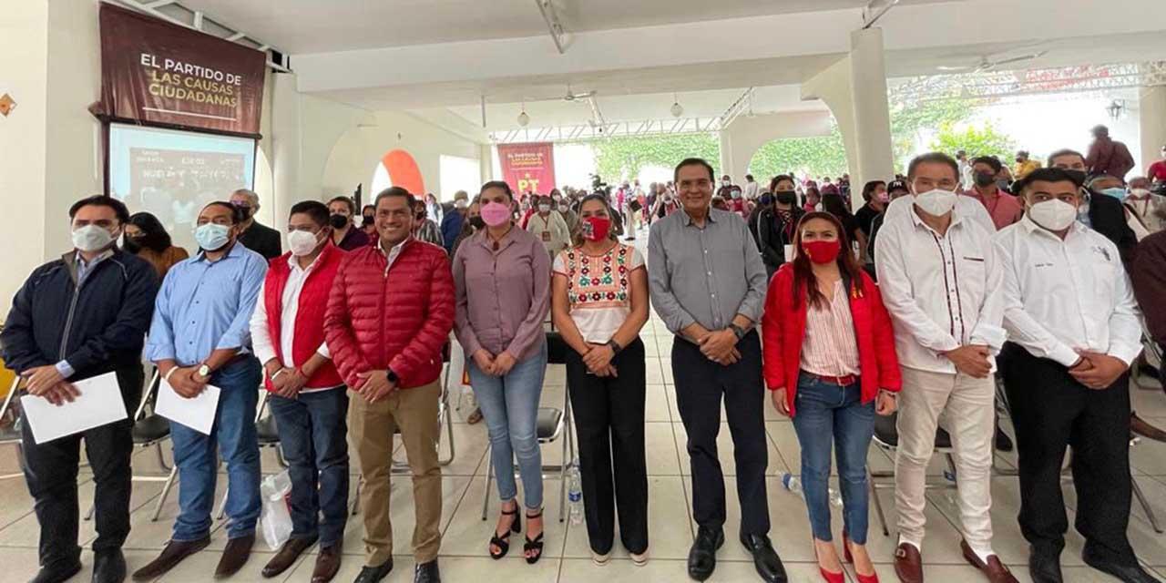 Construye PT Oaxaca plataforma electoral con la opinión ciudadana | El Imparcial de Oaxaca